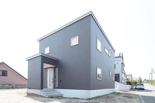 洗練されたデザインの家